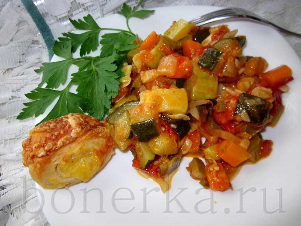 Лечо рататуй или просто овощное рагу