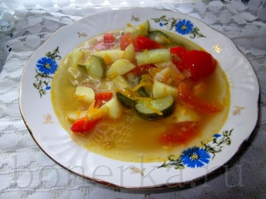 Болгарский суп с огурцами