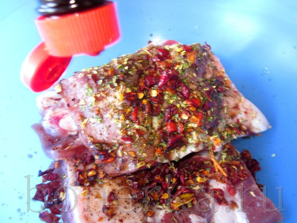 Жареные ребрышки в соевом соусе – кулинарный рецепт