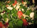 Получится ароматный салат