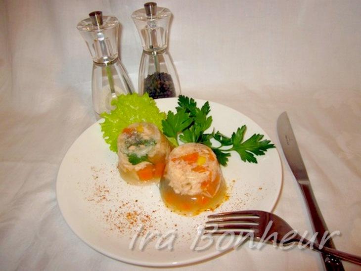 как приготовить заливное из рыбы с желатином из форели