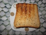 накройте вторым куском хлеба