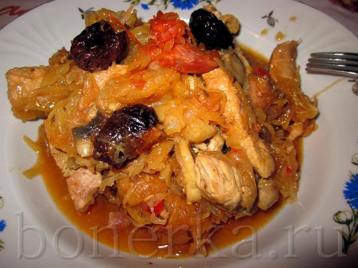 Армянское блюдо с мясом и овощами