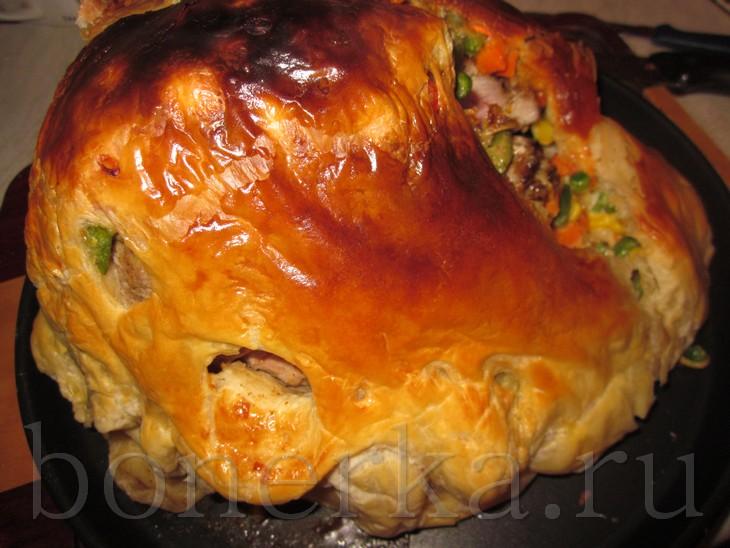 Свинина запеченная в тесте в духовке рецепт с пошагово